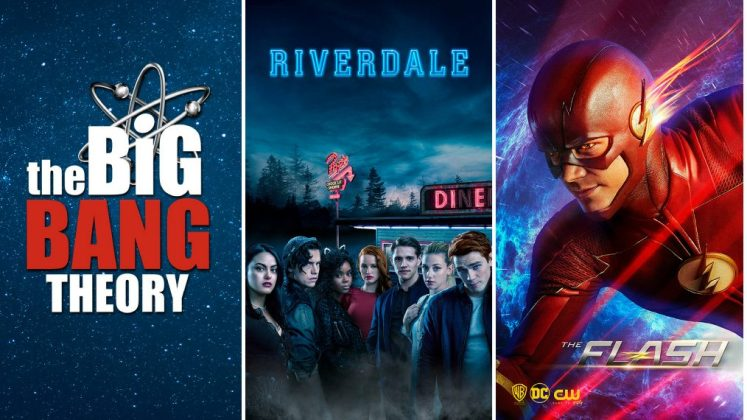 Resultado de imagem para Warner Channel Riverdale, The Big Bang Theory, The Flash e Supernatural
