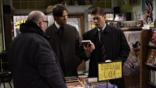 Supernatural Winchesters God Episode The Monster at the End of This Book