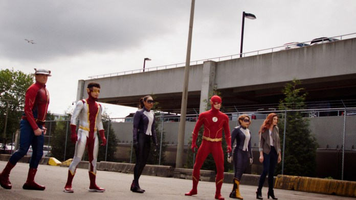 Flash Season 7 Finale Jaybert Iris Barinola Speed Force