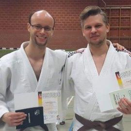 Zwei neue Dan-Träger für Bad Lippspringe