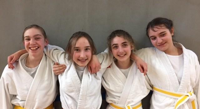 Judo: 4 neue Gürtelfarben