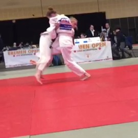 Judo: International Bremen Open 2019, Annika Nitschke erkämpft Bronze