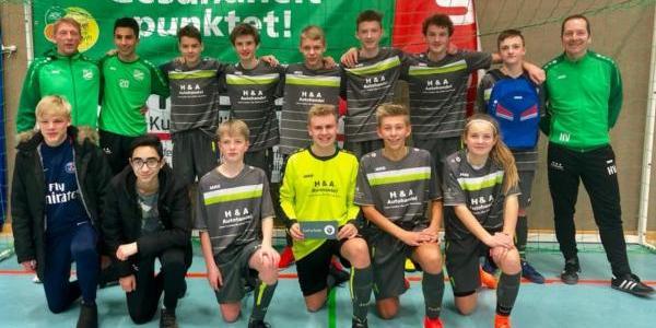Guter Start ins Jahr 2019 – 2. Platz für die U15 I beim 29. Elbe-Weser-Cup