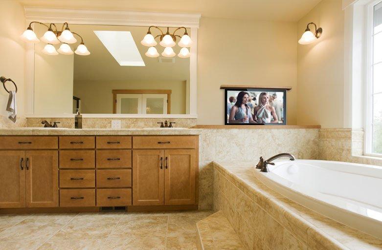 Bathroom TV Ideas Television Ideas For The Bathroom