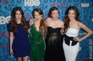 Lena Dunham, Jemima Kirke, Allison Williams y Zosia Mamet, protagonistas de Girls