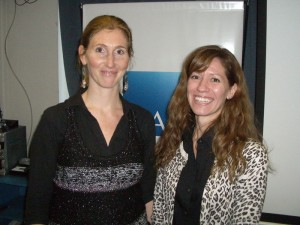 Valeria Beola, country manager  y Daniela Novick, research manager de LAMAC Argentina