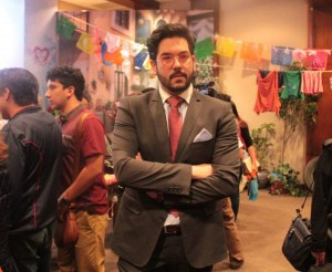 Pedro Ortíz de Pinedo, productor de la serie.