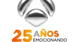 ANTENA 3 LOGO 25 ANIVERSARIO