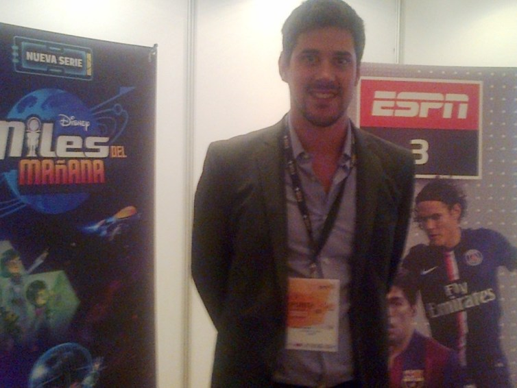 Federico Avila de ESPN y Disney Channel