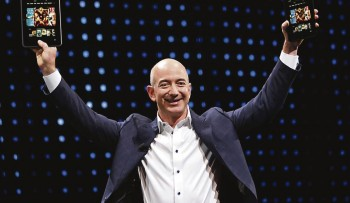 Jeff Bezo, President AMAZON