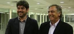 Raphael Correa Neto y  Ricardo Scalamandré