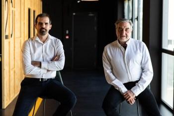 Emilio Amarre y Cesar Benítez de Plano a Plano