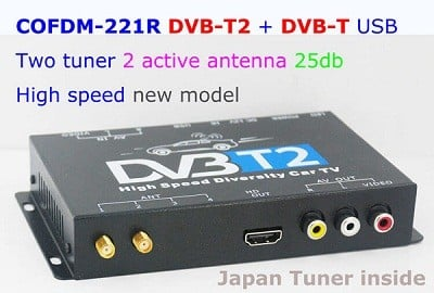HD Wireless Video Receiver COFDM AV 1080P Transmission image Transceiver CVBS 170~900Mhz