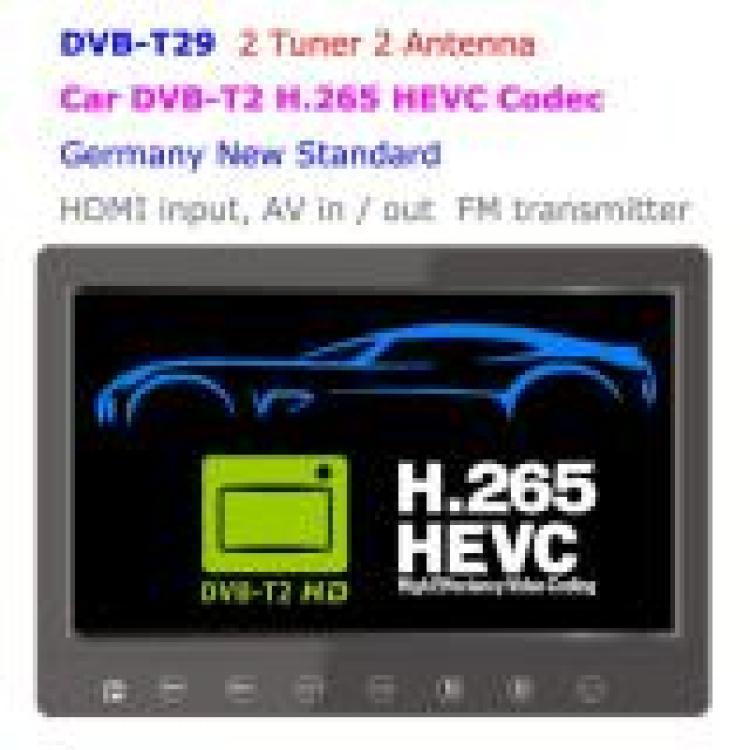 DVB-T2 LCD TV monitor h265