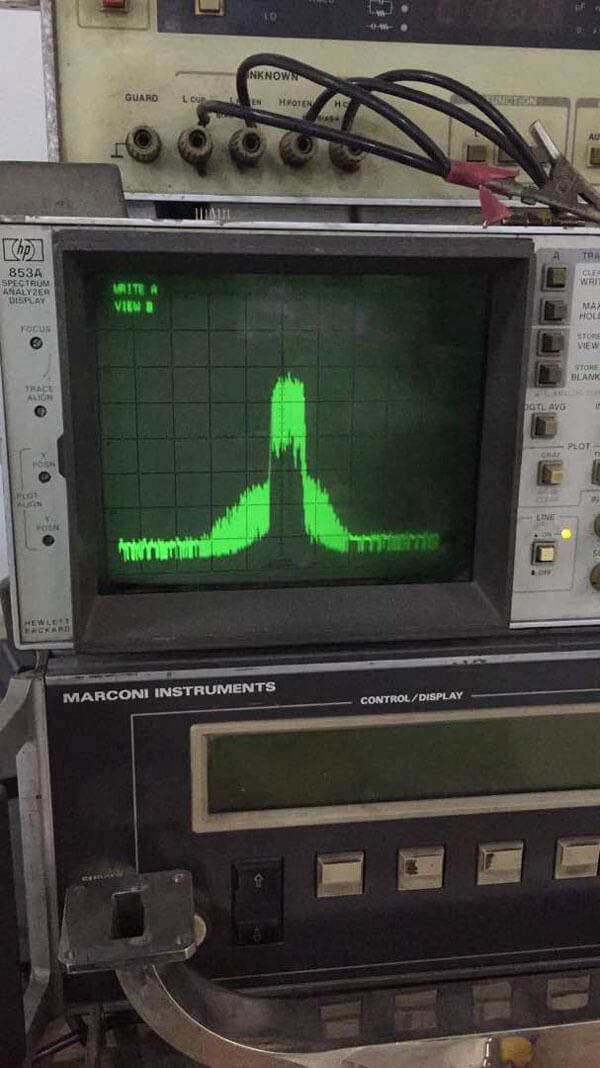 COFDM Wireless Transmitter Test