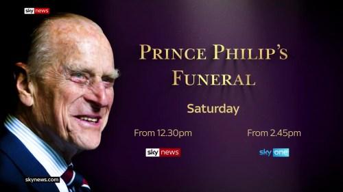 Prince Philip's Funeral – Sky News Promo 2021