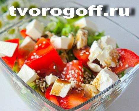 Салат «Удивление» с сыром