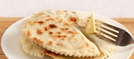 Кутабы творог, зелень рецепт. Азербайджанская выпечка на сковороде.