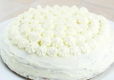 Морковный торт крем из сливок. Нежный и ароматный десерт.