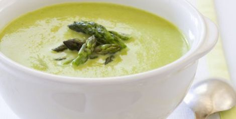 Крем суп из спаржи. Нормализуем работу нервной системы.