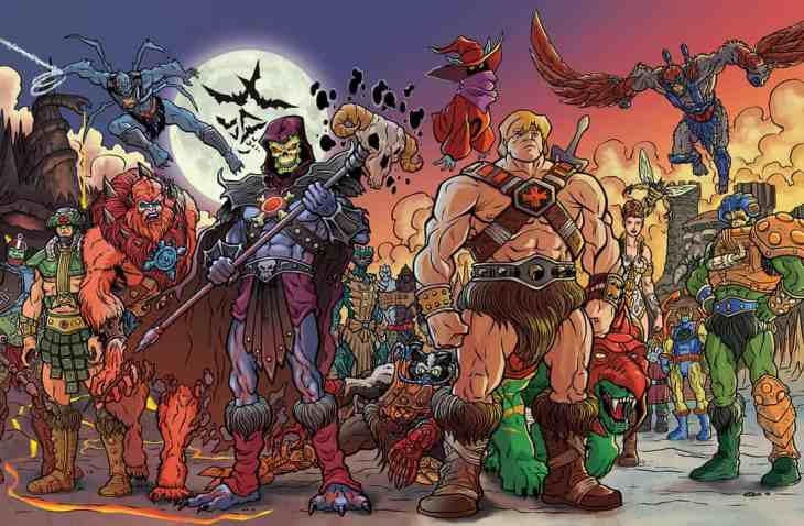 Image result for Masters of the Universe revelation