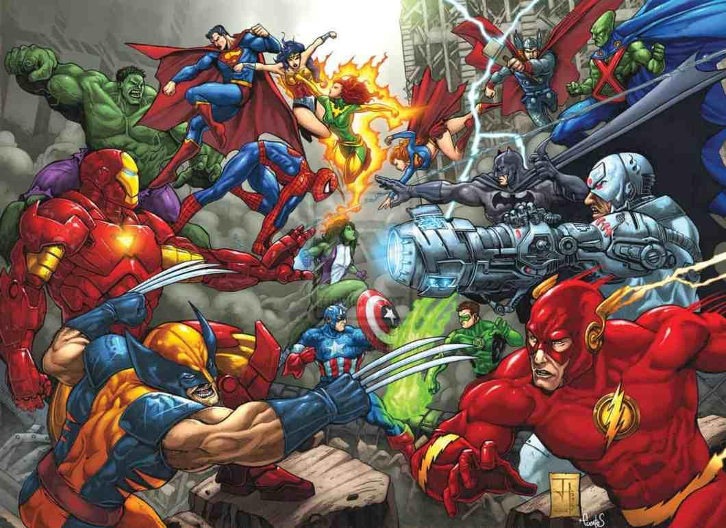 Image result for marvel dc