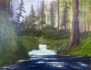 wooded-stream-class-painting-january-2014