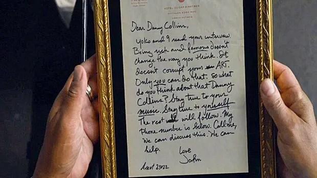 La lettre de John Lennon à Danny Collins