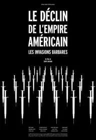 L'affiche refusée de Martin Villeneuve pour le film Les invasions barbares (2003).