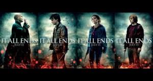 Affiches promotionnelles des personnages pour le film Harry Potter and the Deathly Hallows: Part 2 (2011).