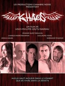 Affiche officielle de Khaos (2011).