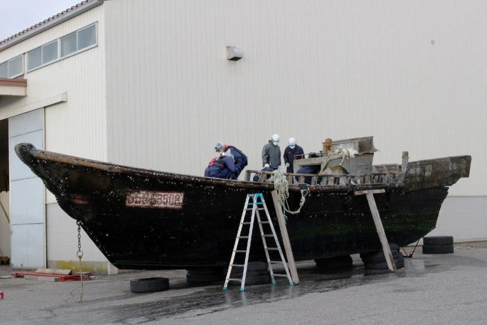 navires fantômes  Japon
