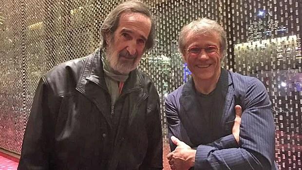 Les réalisateurs des deux versions de La guerre des tuques, André Mélançon et Jean-François Pouliot.