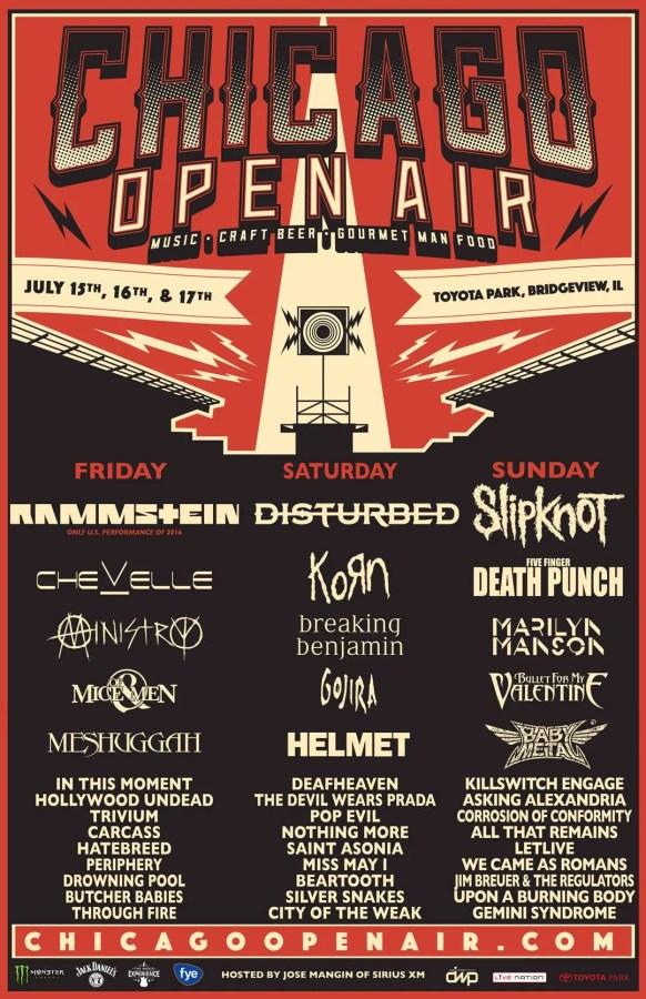 babymetal Chicago Open Air Festival