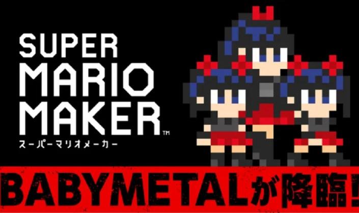 Super Mario Maker: de nouveaux costumes BABYMETAL