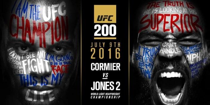 UFC 200: Daniel Cormier et Jon Jones