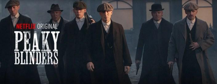 Peaky Blinders saison 3 Cillian Murphy, Helen McCrory and Tom Hardy.