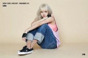 Lisa BLACKPINK Black Pink YG