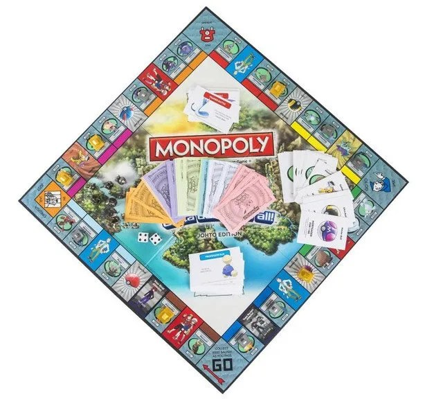 Monopoly Pokémon Johto