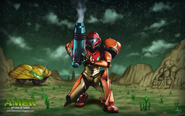 Project AM2R Metroid