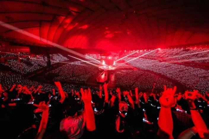 Doomsday au Tokyo Dome: BABYMETAL Legend Metal Resistance RED NIGHT/BLACK NIGHT