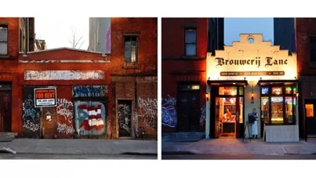 Brooklyn avant / après gentrification