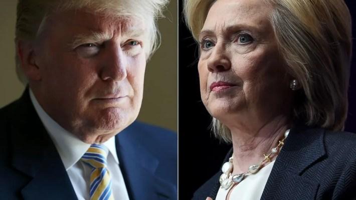 Hillary Clinton ou Donald Trump