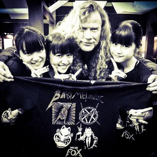 babymetal-dave-mustaine-of-megadeth