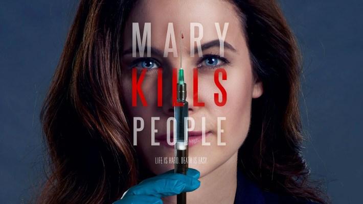 Mary Kills People avec Caroline Dhavernas
