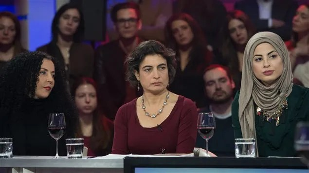 Rachida Azdouz, Nadia El-Mabrouk et Dalila Awada à Tout Le Monde En Parle TLMEP