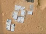 google map mars human built