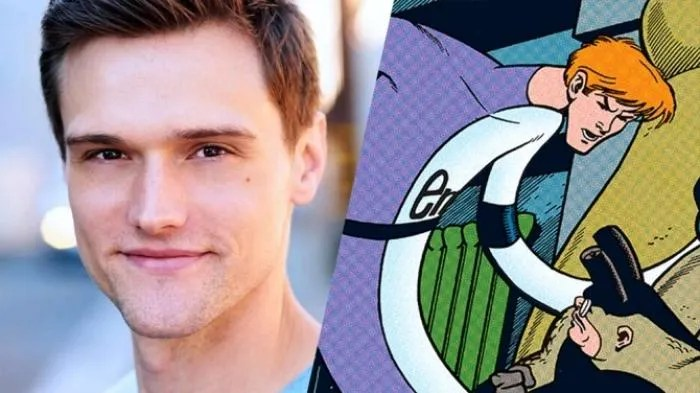 Hartley Sawyer aka Elongated Man The Flash saison 4
