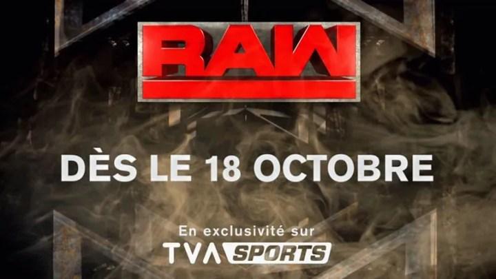 TVA Sports et la WWE