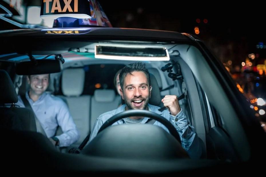 Taxi payant